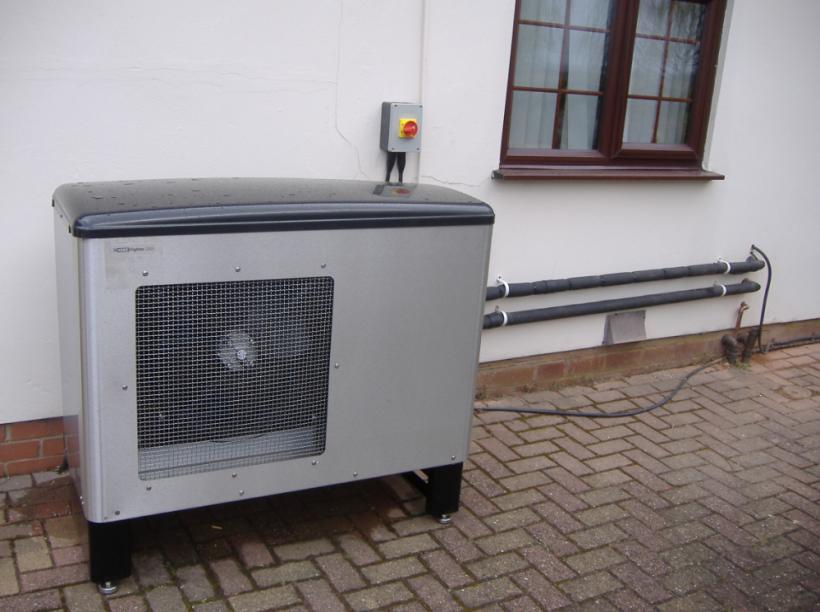 Как выбрать лучшую тепловую мощность для теплового насоса типа воздух-вода?